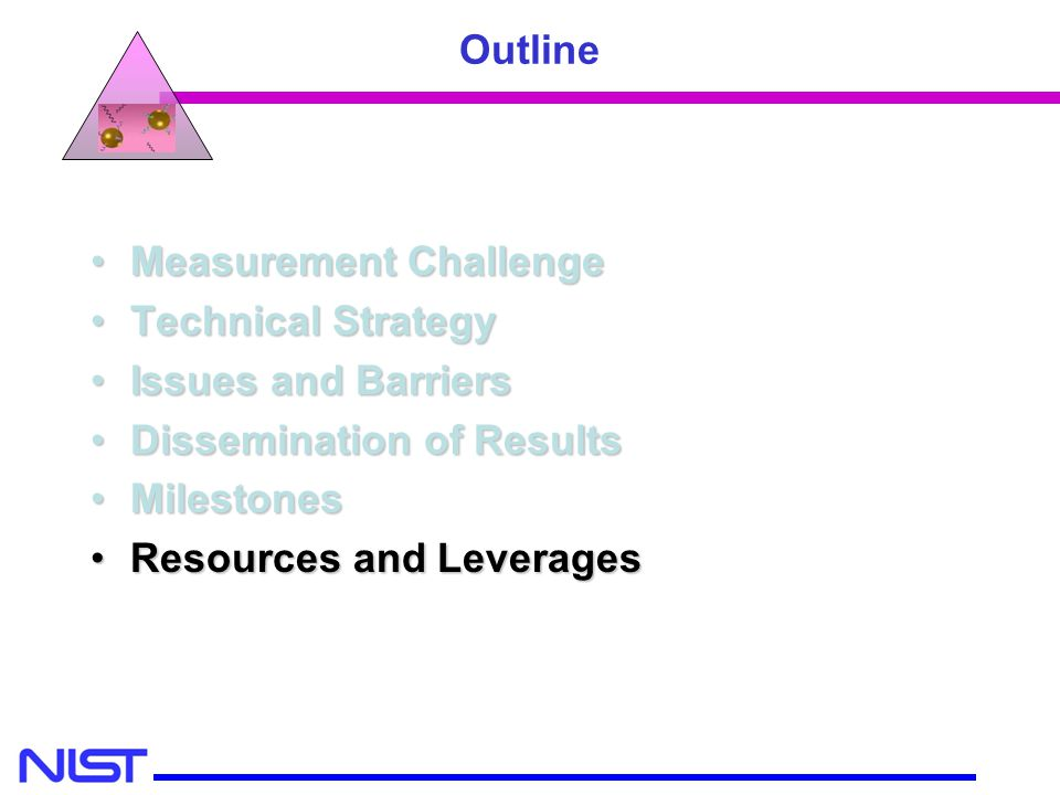MSEL MEL CSTL Measurement ChallengeMeasurement Challenge Technical StrategyTechnical Strategy Issues and BarriersIssues and Barriers Dissemination of