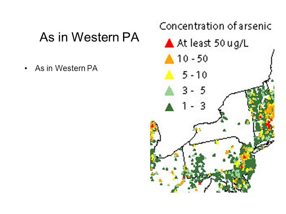 As in Western PA