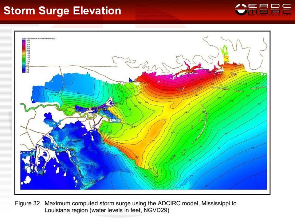Storm Surge Elevation