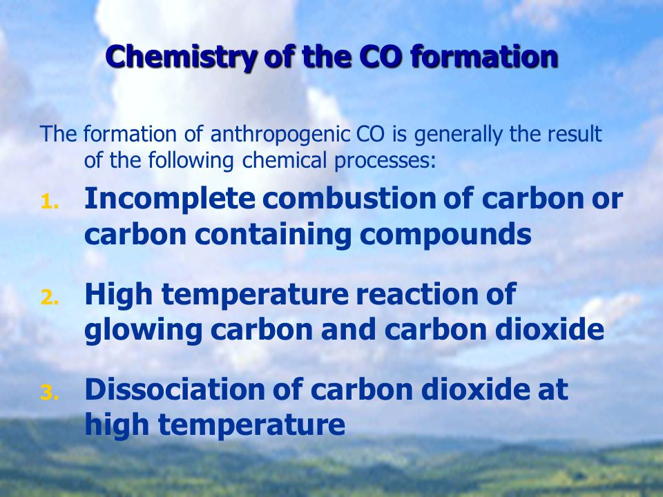 Effects of CO on Humans The oxygen uptake is restricted Hemoglobin (Hb): O 2 and CO 2 transport.