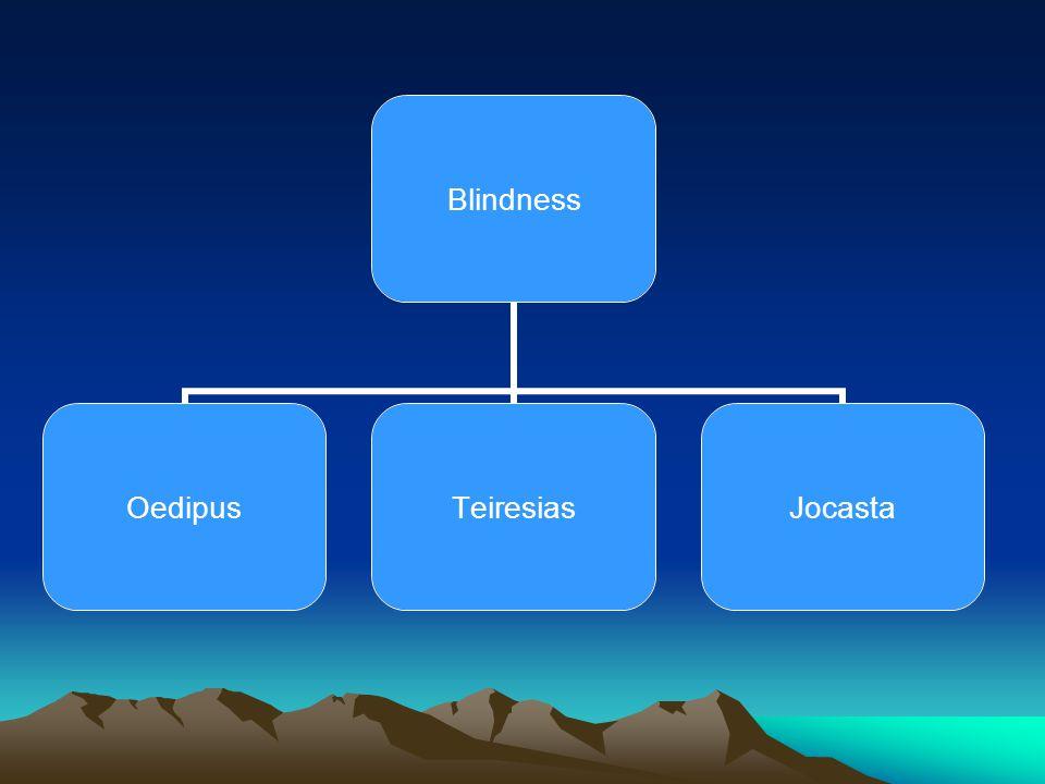 Blindness OedipusTeiresiasJocasta