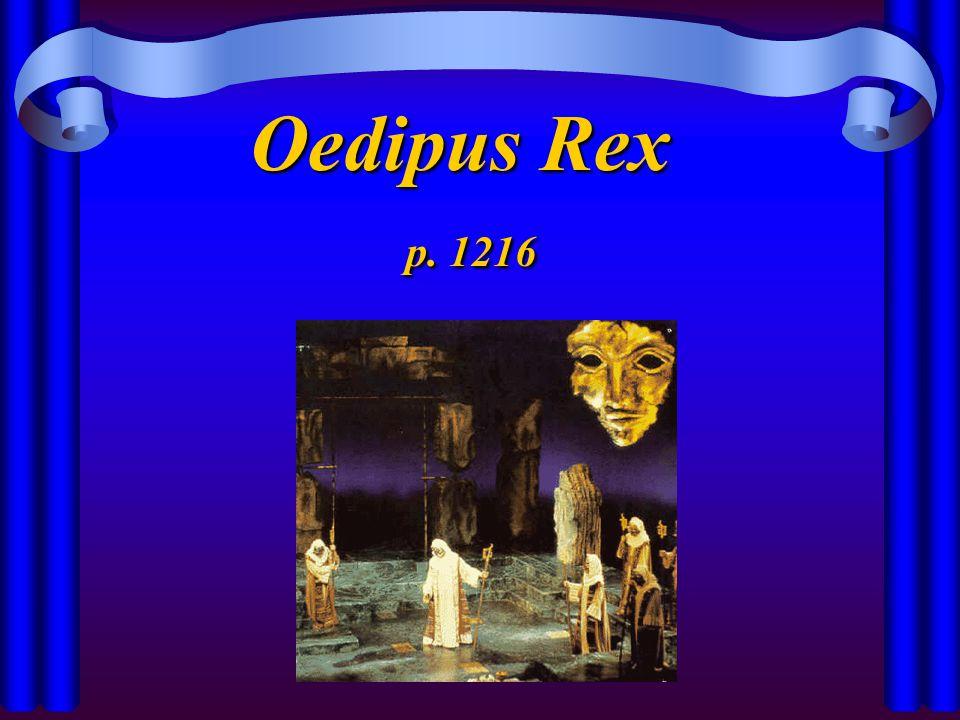 Oedipus Rex p. 1216 p. 1216