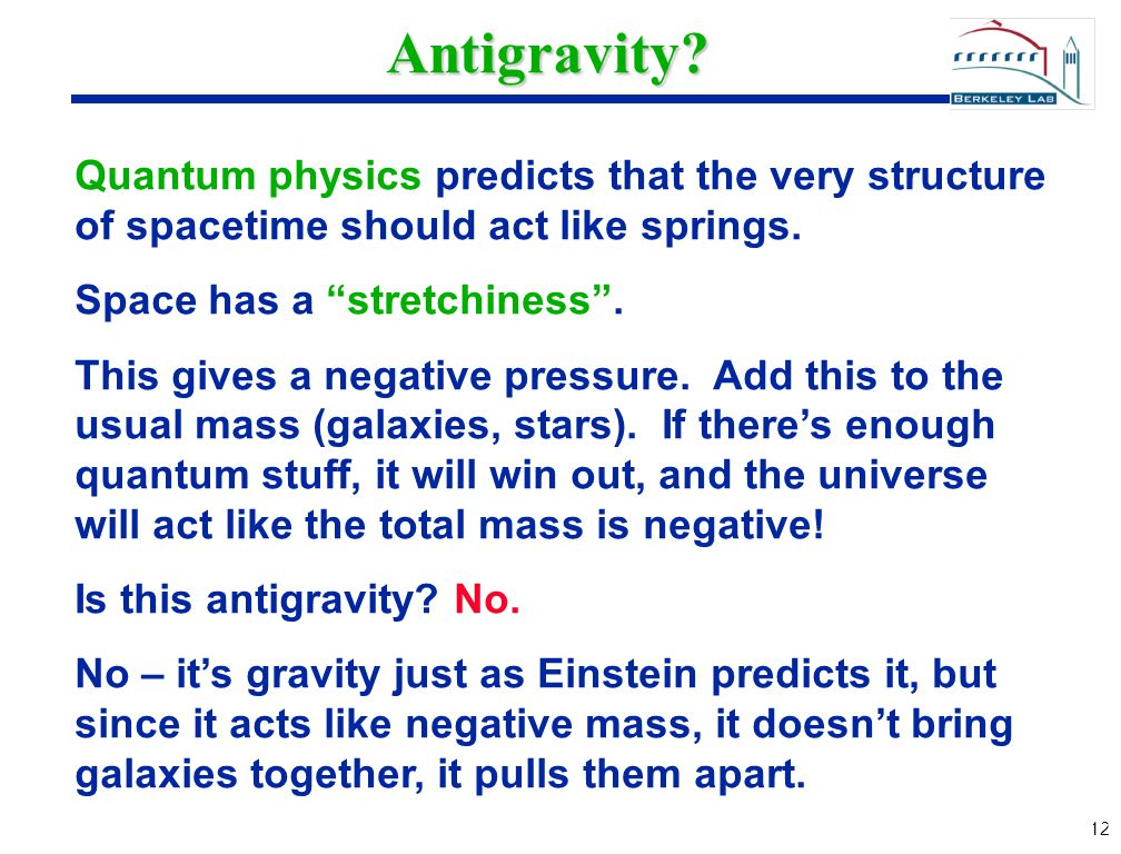 12 Antigravity.