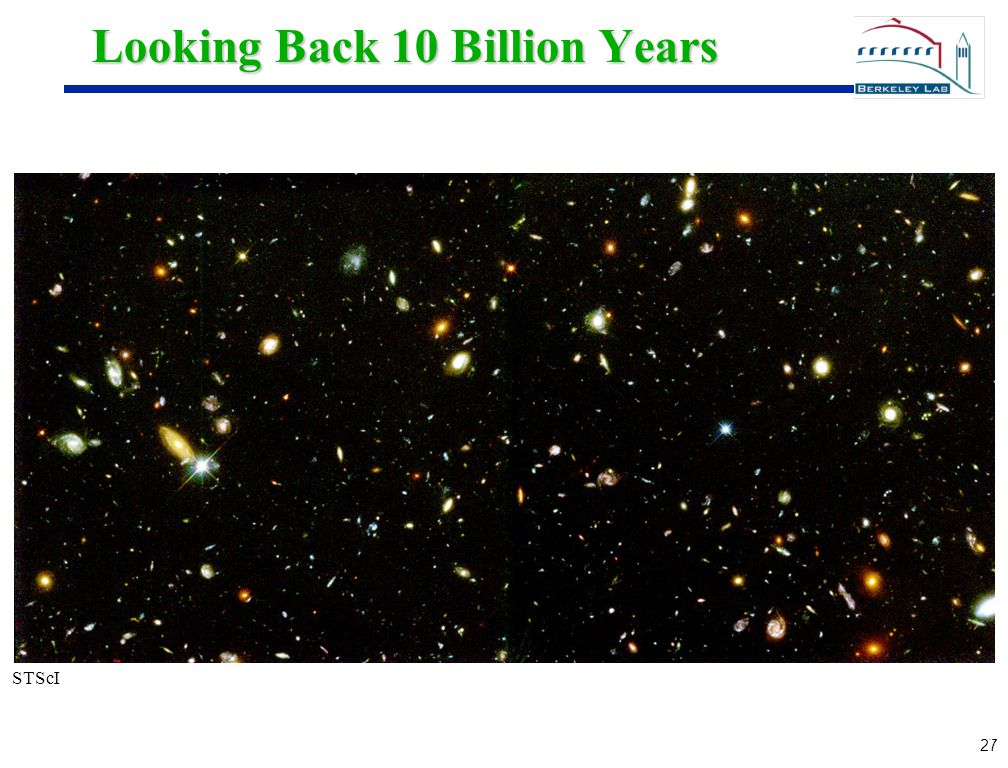 27 Looking Back 10 Billion Years STScI