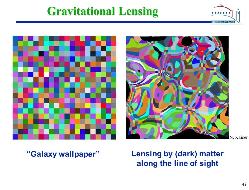 41 Gravitational Lensing Galaxy wallpaper Lensing by (dark) matter along the line of sight N.
