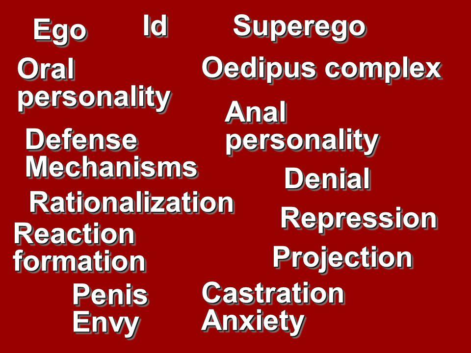 Fate of Freud's ideas: Oedipus complex.Oedipus complex.