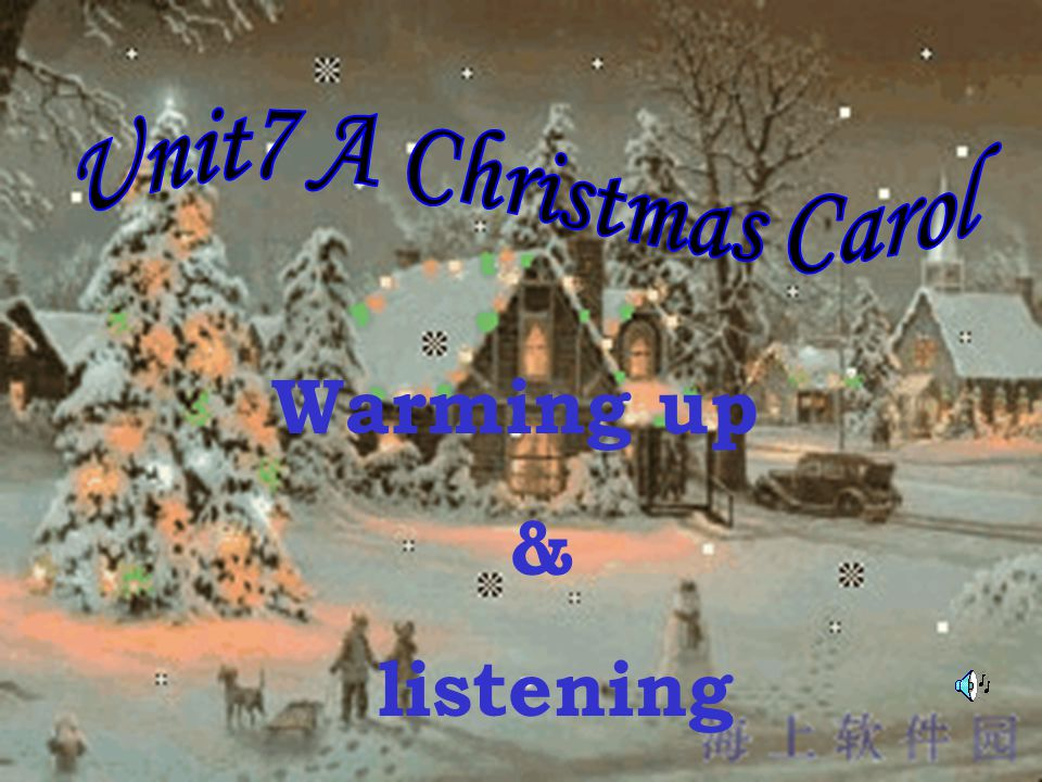 Warming up & listening