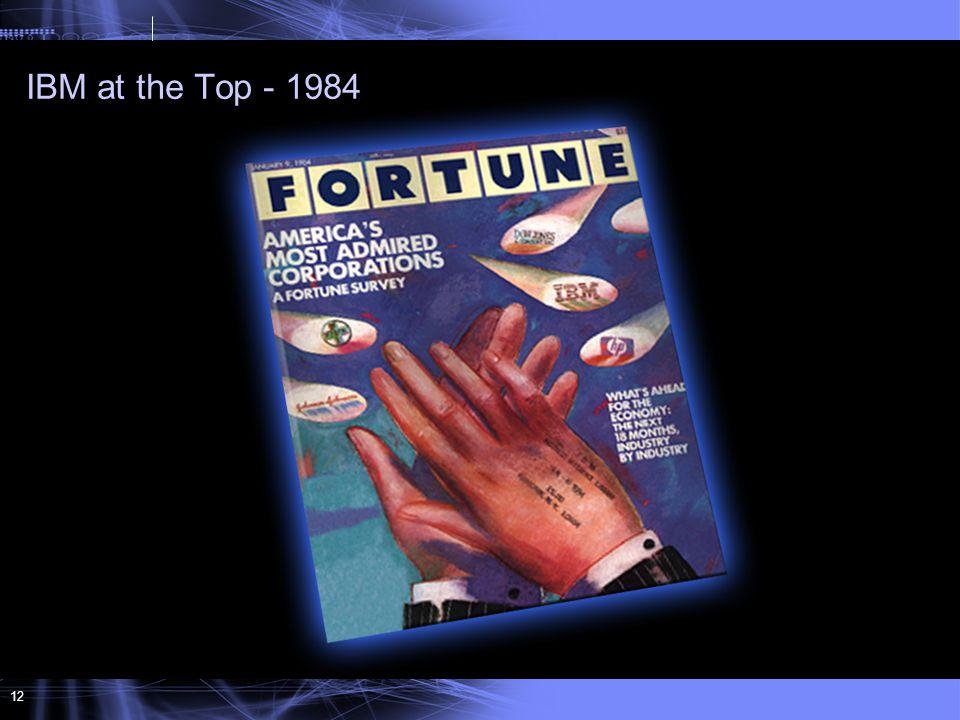 12 IBM at the Top - 1984