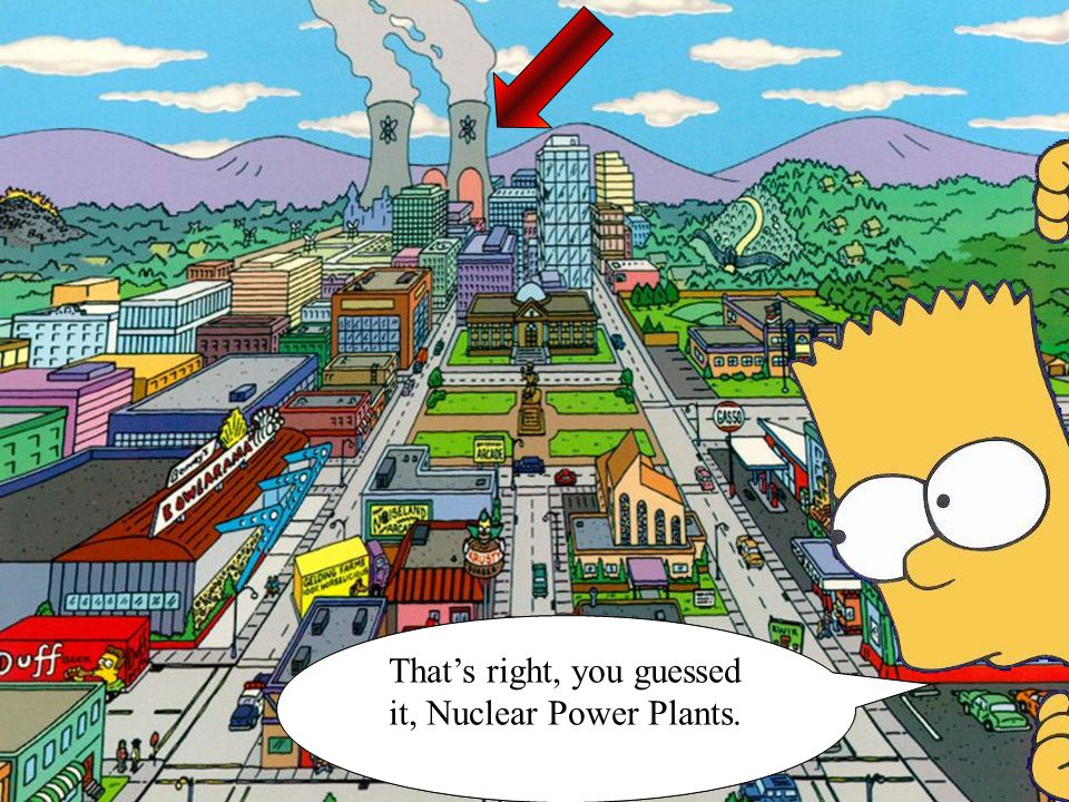 Today I would like to discuss a different incident, one dealing with… That's right, you guessed it, Nuclear Power Plants.
