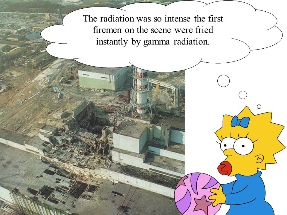 The remains of the reactor were emitting 3,000-30,000 roentgens per hour.