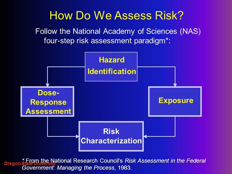 Oregon State University How Do We Assess Risk.