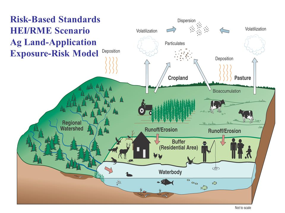 Risk-Based Standards HEI/RME Scenario Ag Land-Application Exposure-Risk Model