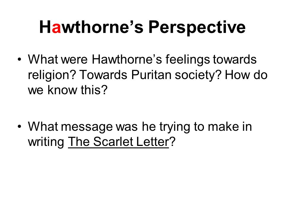 Questions 1.How do guilt, sin and/or shame change Hester, Dimmesdale and Chillingworth.