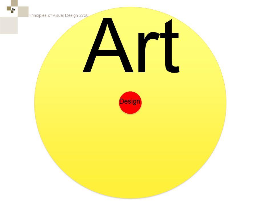 Principles of Visual Design 2720 Design Art