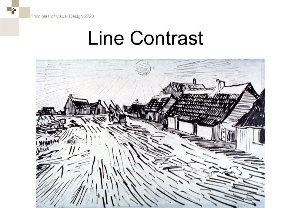 Principles of Visual Design 2720 Line Contrast