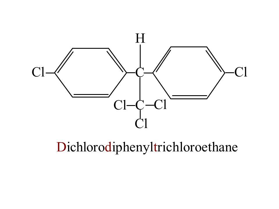 C CCl H Dichlorodiphenyltrichloroethane
