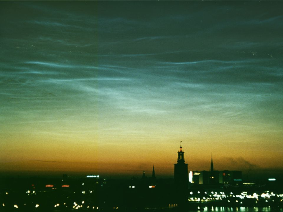 the mesosphere noctilucent clouds (NLC)