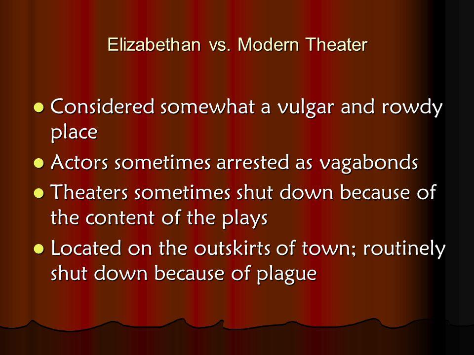 Elizabethan vs.