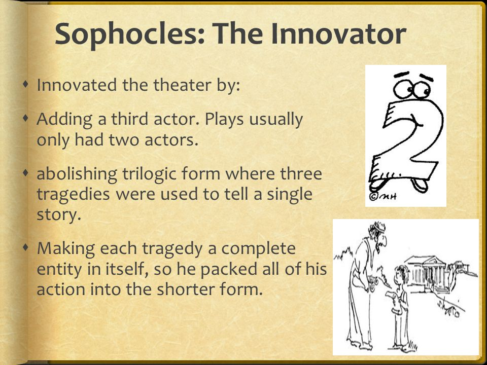 More on Dramatic Irony  In The Oedipus Trilogy, Oedipus seeks the truth about his father s murder.