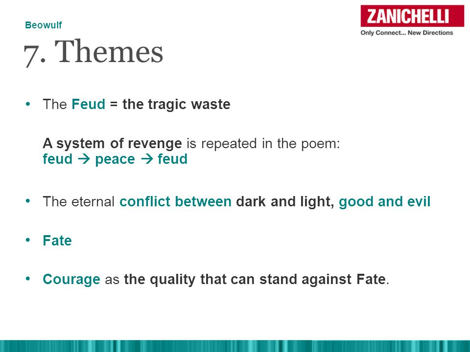 The Feud = the tragic waste 7.