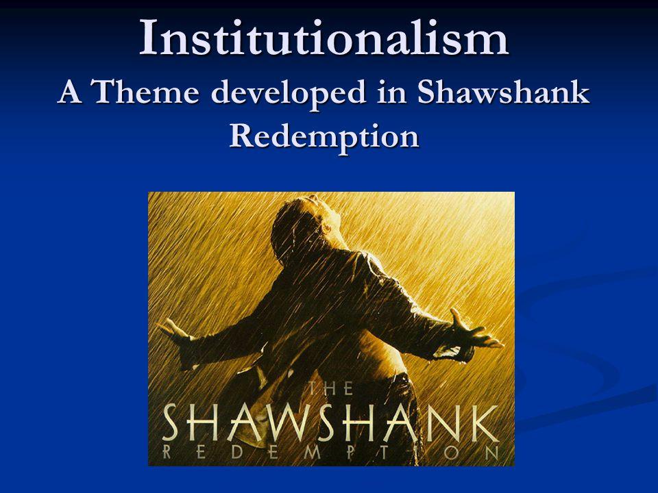 the shawshank redemption essays