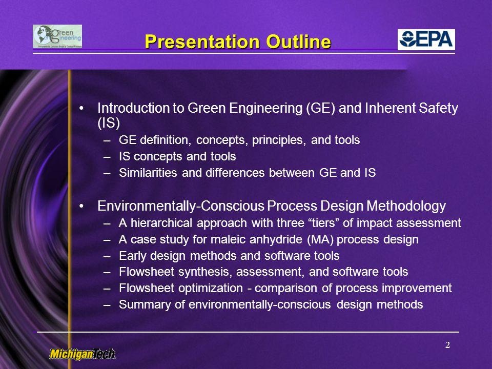 53 Continuous Improvement of Design Performance n-butane process design benzene process design