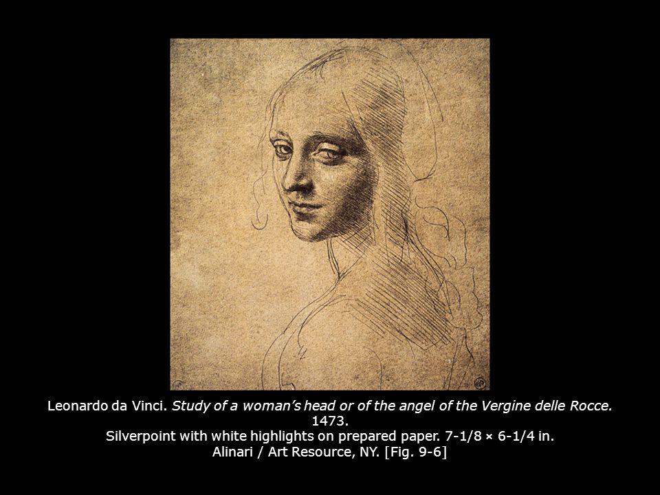 Raphael.Study for The Alba Madonna (recto). c. 1511.