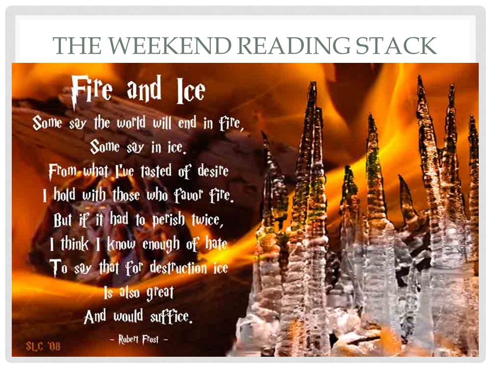 THE WEEKEND READING STACK Read essay The Future of the Universe by Hawking Also Black Holes & Baby Universes by Hawking Beginning of book Parallel Universes by Fred Wolf (NOTE: Highly speculative.