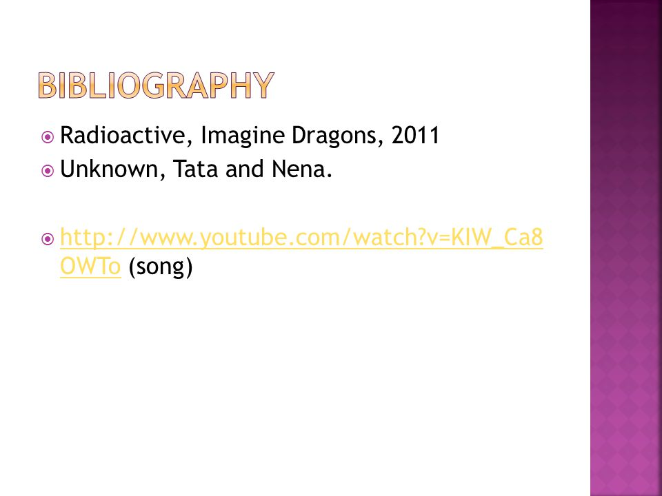  Radioactive, Imagine Dragons, 2011  Unknown, Tata and Nena.