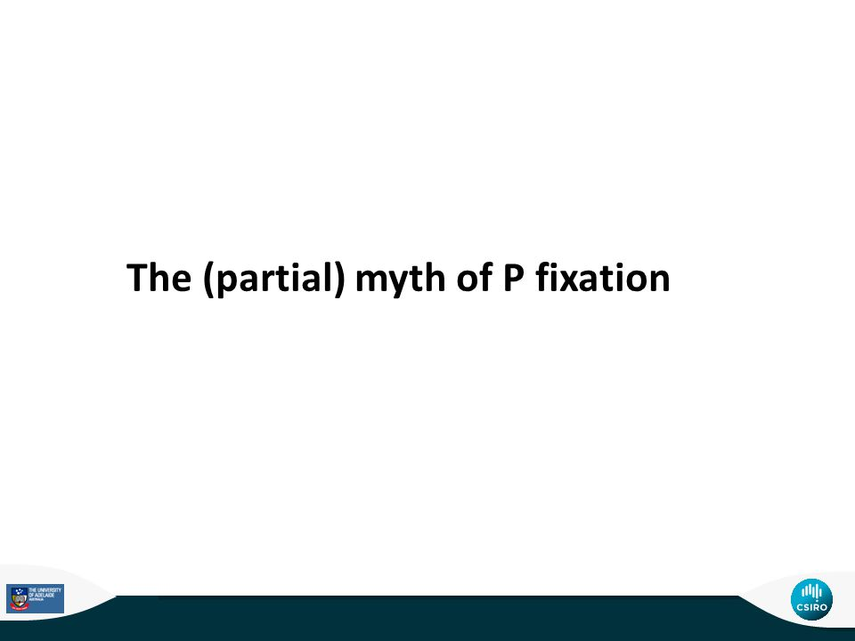 The (partial) myth of P fixation
