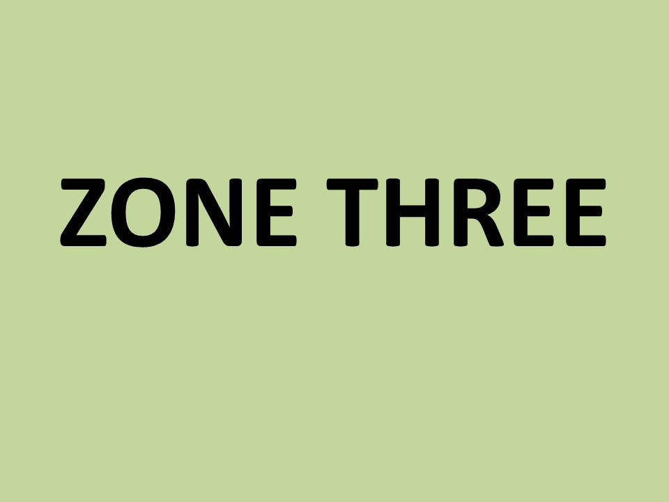 ZONE THREE