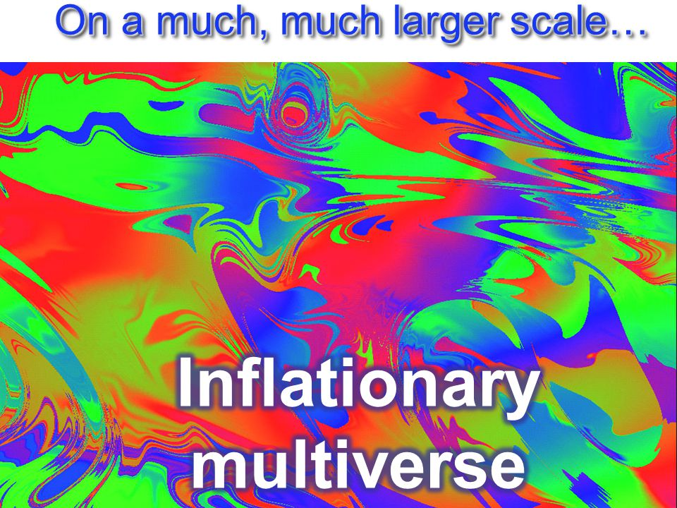 On a much, much larger scale…