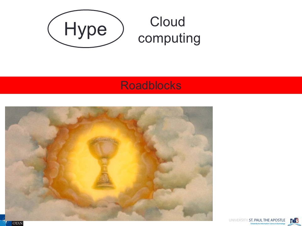 3 Roadblocks Cloud computing Hype