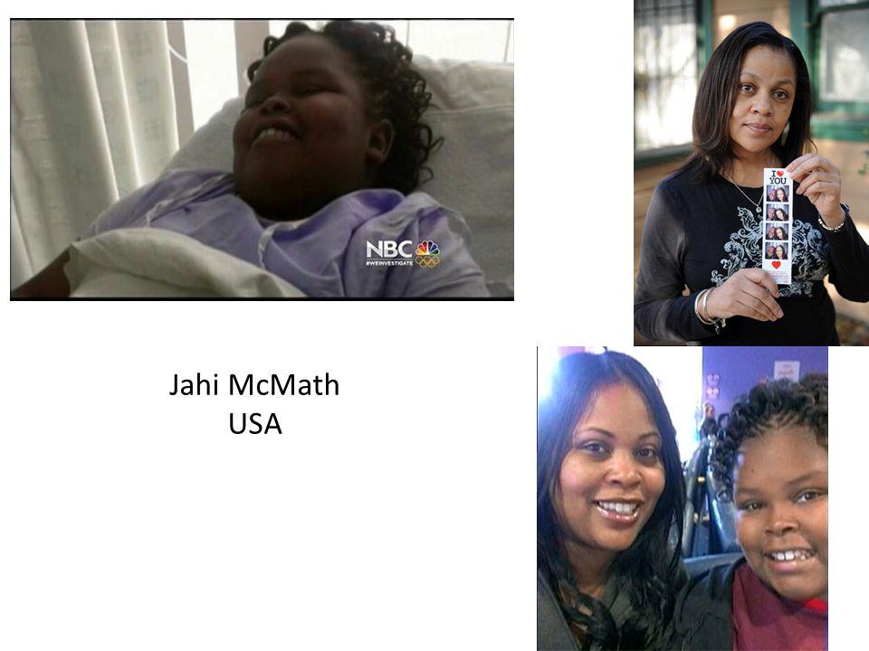 Jahi McMath USA
