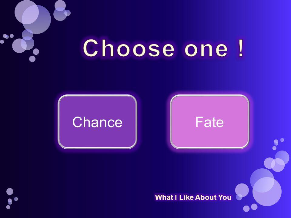 ChanceFate