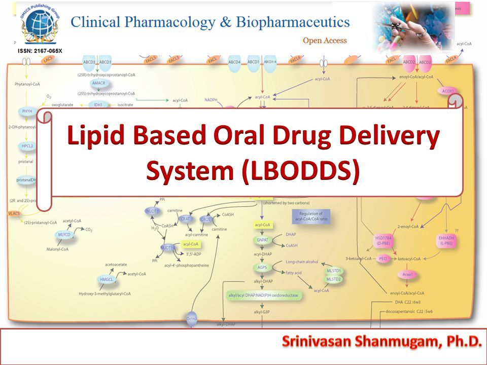  An emerging platform for oral delivery of drugs with poor aqueous solubility  Utilization of lipid as a carrier for the delivery of poorly water soluble, lipophilic drugs  BA enhancement & normalization  Targeted lymphatic delivery