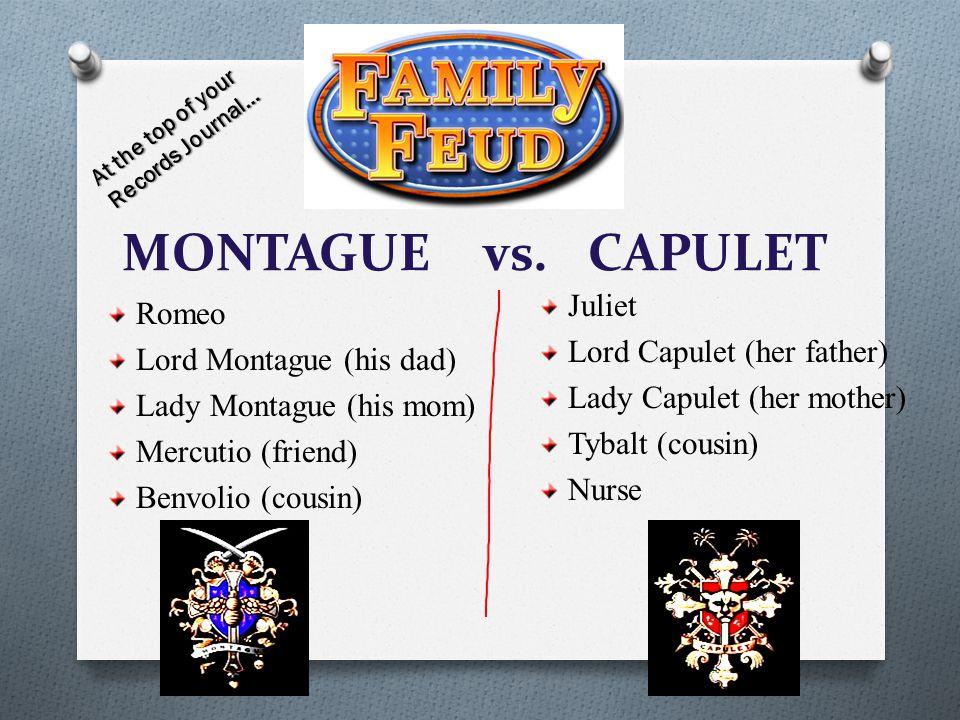 MONTAGUE vs.