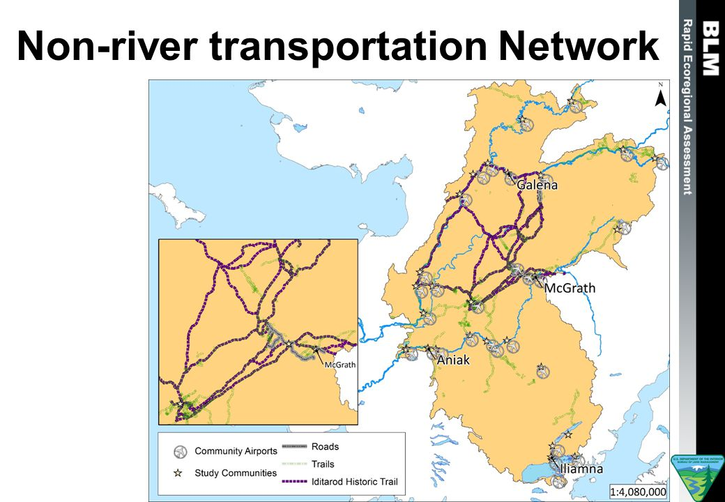 Non-river transportation Network