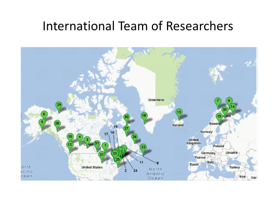 International Team of Researchers