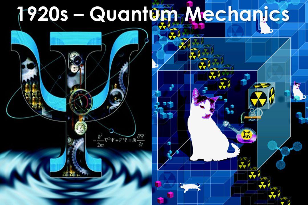 1920s – Quantum Mechanics