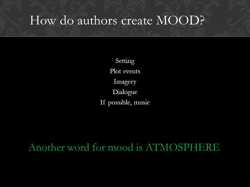 How do authors create MOOD.