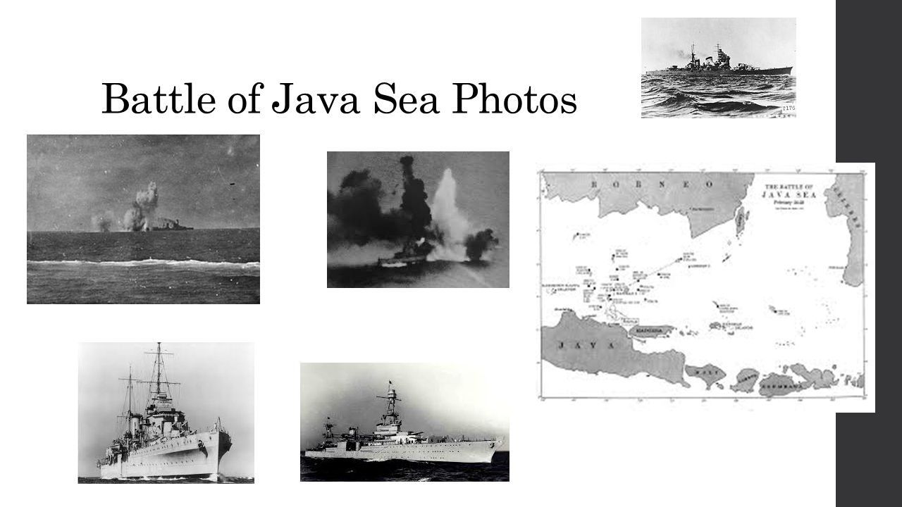 Battle of Java Sea Photos
