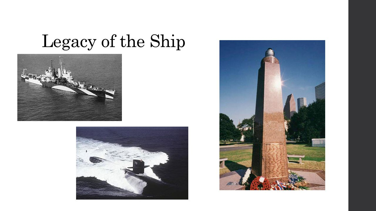 Legacy of the Ship