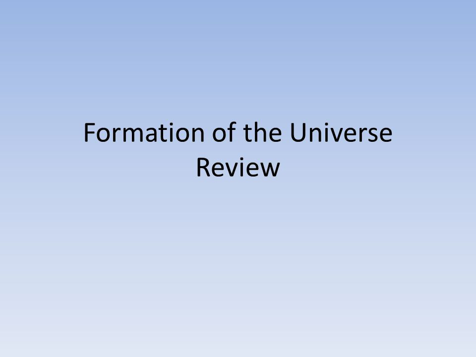 6._____ The red shift of distant galaxies show that the universe is ___________.