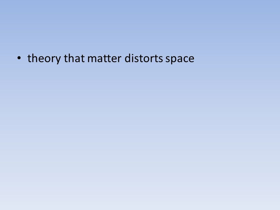 d. empty space