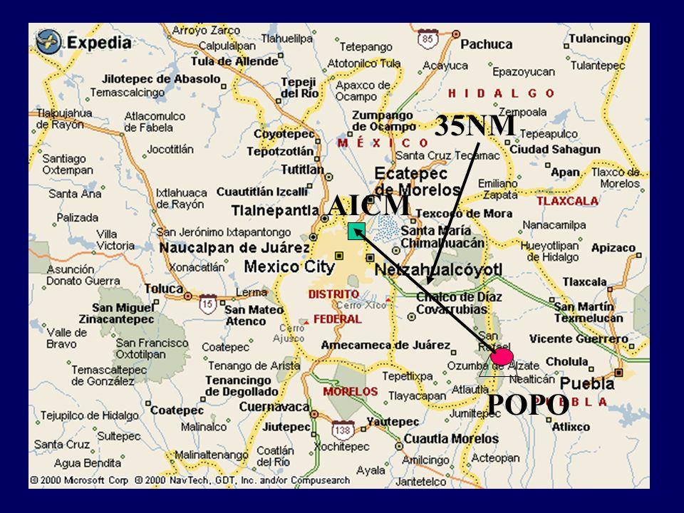 VOLCANIC ASH SIGMETS Actually the CAPMA of SENEAM is issuing SIGMETS of volcanic ash of the volcanoes Popocatepetl and Volcan de Fuego de Colima.