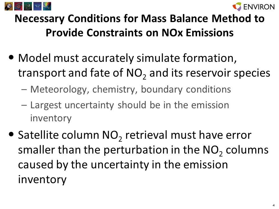 NO 2 Column Retrievals Used KNMI DOMINO v2.0 and NASA SP2 retrievals –Estimate of uncertainty introduced by the retrieval in the top- down emission estimates Retrievals begin with the same OMI slant columns, differ in: –Method for stratospheric column determination –AMF calculation 5