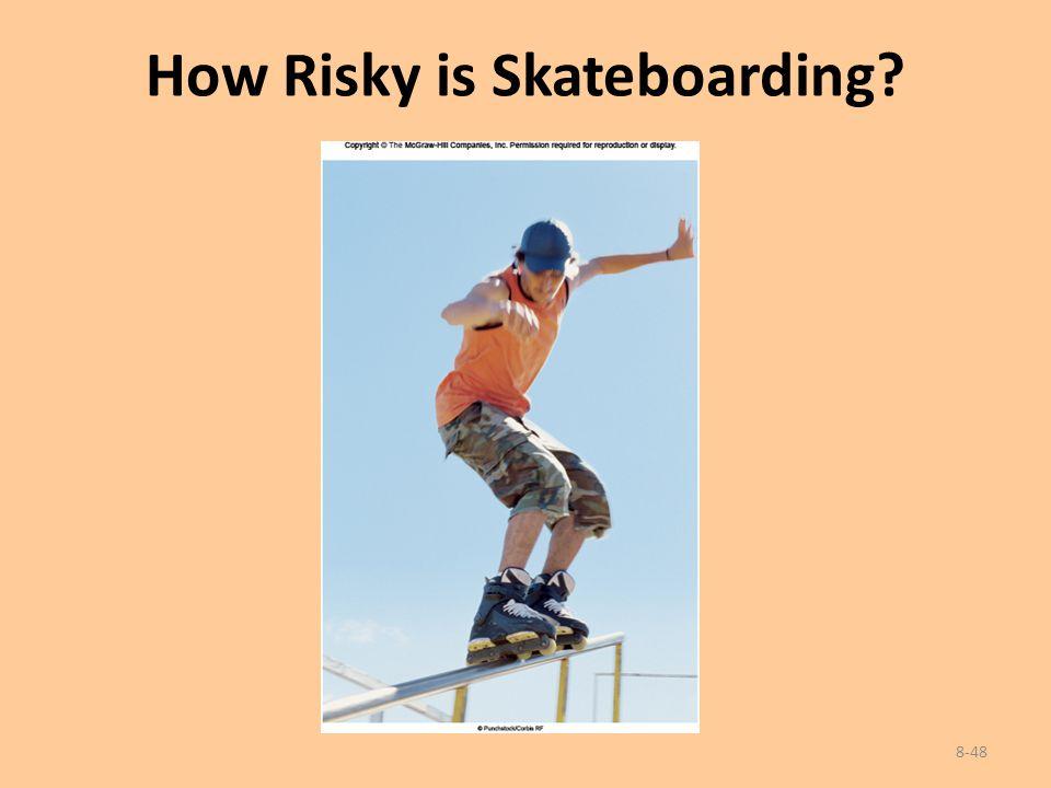 How Risky is Skateboarding? 8-48