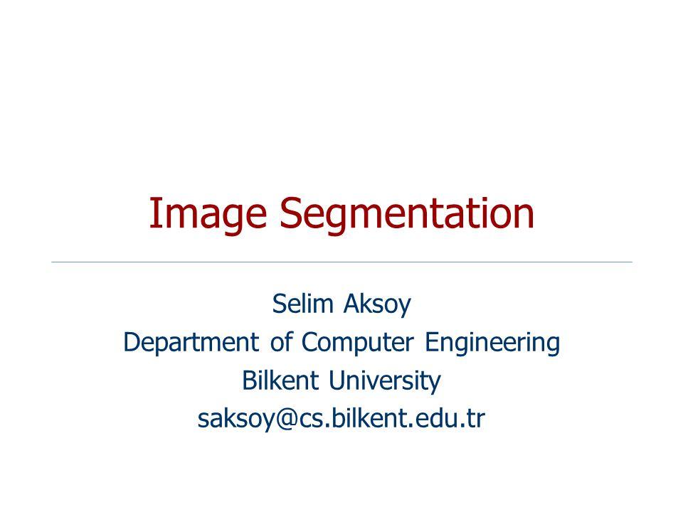 Mean shift algorithm CS 484, Spring 2012©2012, Selim Aksoy22 Search window Center of mass Mean Shift vector