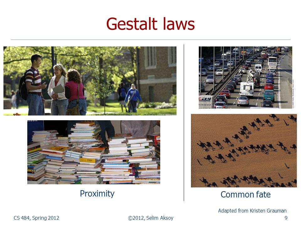 Mean shift segmentation CS 484, Spring 2012©2012, Selim Aksoy30 http://www.caip.rutgers.edu/~comanici/MSPAMI/msPamiResults.html